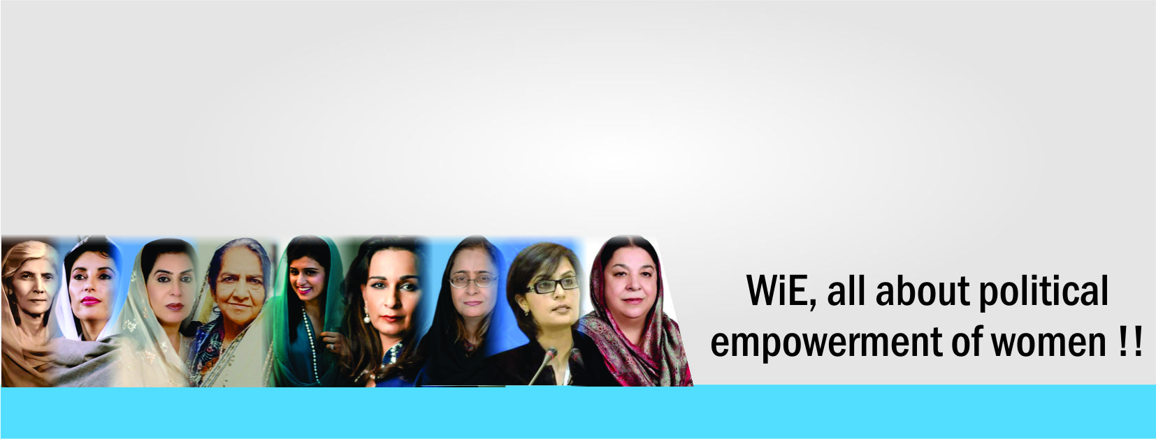 WiE is all about Political Empowerment of Women